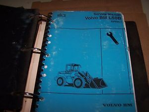 Volvo BM L50B Wheel Loader Service Manual