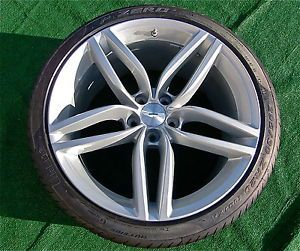 2013 Genuine Factory Aston Martin DB9 Forged 20 inch Wheels Tires TPMS DBS