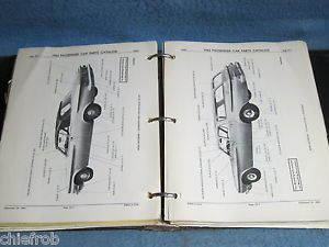 1962 Chrysler Dodge Plymouth Original Parts Catalog Imperial Dart Valiant
