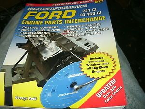 High performance Ford Engine Parts Interchange