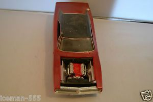 1969 69 Dodge Charger RT Model Car Kit Junk Parts Project
