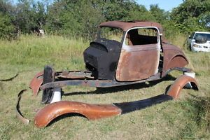 1933 1934 Ford 3 Window Coupe Parts Project