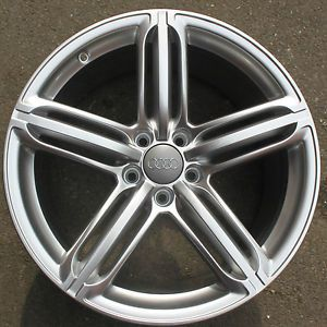 "One Audi TT 19"" 5 Segment Spoke Alloy Wheel Refurbished 9J Front or Rear TTS"