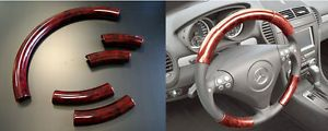 Acura CL 98 99 Red Wood Grain Pattern Steering Wheel Cover Interior Parts