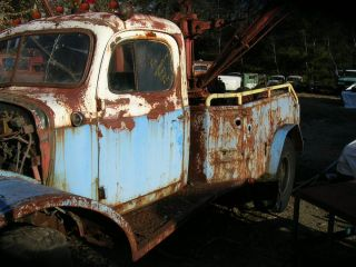 Dodge Power Wagon Wrecker for Parts or Resto
