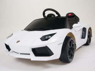Kids Ride on Power Licensed Lamborghini Aventador Wheels w Remote Car