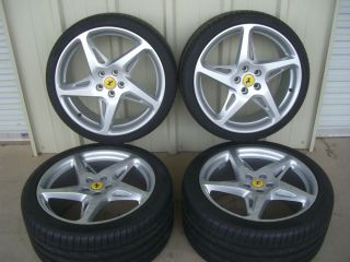 "20"" Ferrari 458 Italia Genuine Factory Wheels Tires Rims 20 Inch"