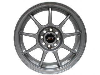 "15"" MATTE SILVER WHEELS RIMS HONDA CIVIC FIT CRX INTEGRA YARIS 4X100"