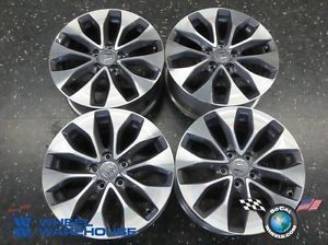 Four 2013 Honda Accord Coupe Factory 17 Wheels Rims
