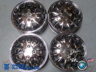Four 96 97 Honda Accord Factory 15 Chrome Wheels Rims Outright Sale