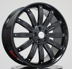 "22"" Black Wheels Tires Packages Fit Land Range Rover LR3 Sport HSE Discovery Rim"