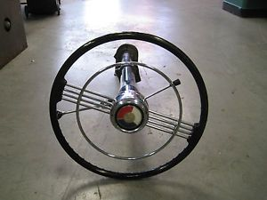 Buick Banjo Steering Wheel Hot Rod 1950 1953 Rat Rod Stca Vintage V8 Flathead
