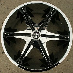 Dub Shooz S145 22 x 9 5 Chrome Rims Wheels Buick Riviera rwd 5H 15
