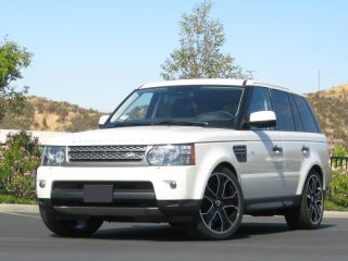 Glossy Black Land Rover Range Rover Sport Wheels Rims with Tires 2013 2014 22""