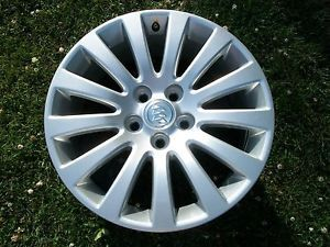 "18"" Buick Regal OE Wheel Rim Silver 4100 GM Factory New Take Off 2010"