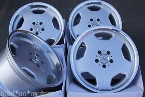 "18"" Staggered Slots Alloy Wheels Fits Mercedes SL R129 Convertible 89 01"