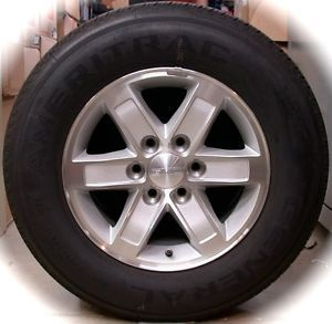 "New 2013 GMC Sierra Savana 17"" Factory Wheels Rims Tires Silverado Express"