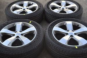 "20"" Jeep Grand Cherokee Overland Wheels Rims Tires Factory Wheels 2014'"