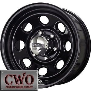 Jeep Wrangler Black 15 Rims