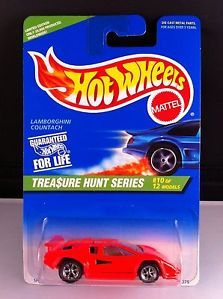 Hot Wheels Treasure Hunt 1996