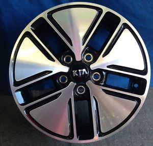 "16"" Kia Optima 2013 OE Machine Black Wheels 4"