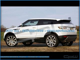 "Silver Evoque 20"" Wheels Tire MAR550E Package 2013 Land Range Rover Rims New"