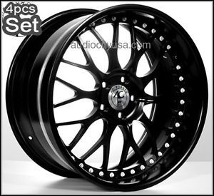 "22"" AC Forged for Land Range Rover Wheels Rims 3pc Forged Huge Lip"