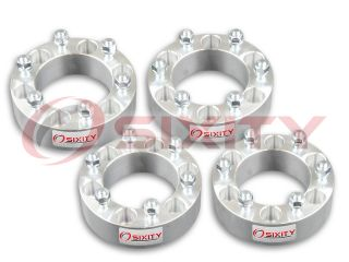 "4pc 2 0"" Wheel Spacers Isuzu Rodeo Trooper Truck 6x5 5 Adapters Lugs Studs YT"