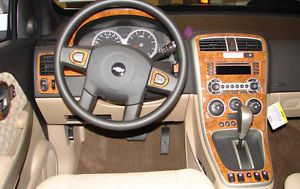 GMC Yukon Denali 03 06 Interior Wood Pattern Dash Kit Trim Dashboard Parts