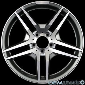 "18"" Gunmetal Wheels Fits Mercedes Benz AMG W220 S430 S500 S600 S55 S63 S65 Rims"