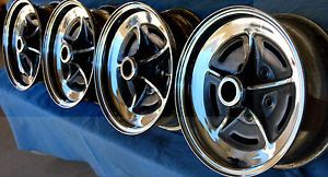 Buick Riviera Chrome Wheels 1971 1979 Will Fit 1964 1965 1966 1970 Use SML Cap