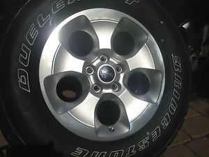 "2014 Jeep Wrangler Sahara 18"" OE Wheel Tire Rim Brand Brand New 1 Wheel Spare"