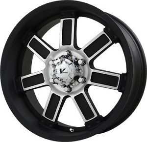 "18"" Black Wheels Rims Jeep Wrangler Rubicon Sahara"