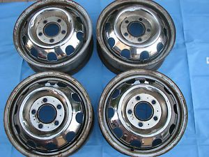 1966 Oldsmobile Toronado Optional Chrome Steel Wheels 4 1967 1968