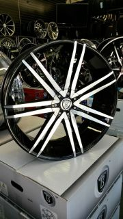 22 inch Borghini Rims Wheels Tire Package Ford Chevy Infiniti Nissan Kia Honda