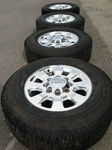 GMC 2500 3500 Sierra Duramax Factory 18 Wheels Rims Tires Goodyear 8x180