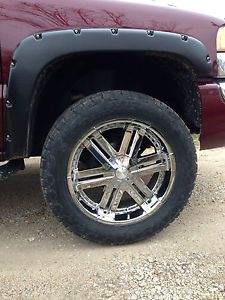 325 50 R22 Chrome Rims and Tires GMC Chevy
