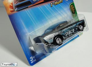 RARE Hot Wheels Treasure Hunt 2005 4 1957 HW 57 Chevy Tampo Rims Variation