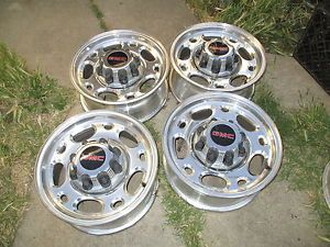 "16"" GMC Chevy 2500 HD Truck Wheels Rims Silverado 2500HD 8 Lug"