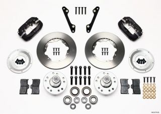 "Wilwood Disc Brake Kit Front 79 86 Chevy Pontiac Oldsmobile Buick 11"" Rotors"