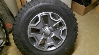Jeep Wrangler Rubicon Rims and Tires