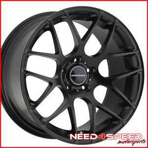 "20"" Pontiac G8 Avant Garde M310 Concave Staggered Black Wheels Rims"