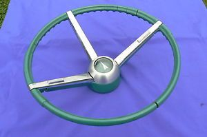 1967 Pontiac GTO LeMans Steering Wheel Unrestored Original