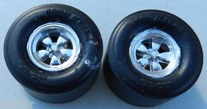 AMT MPC Revell Johan Drag Racing Wheels Slicks Pontiac Chevy Ford Dodge Plymouth