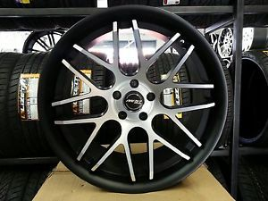 20 inch Staggered Euro Tek U06 Wheel Rims Tires Concave Fit BMW MBZ Kia Nissan