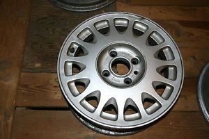 "88 89 90 Classic Saab 900 Turbo 15"" Factory Alloy Wheel"