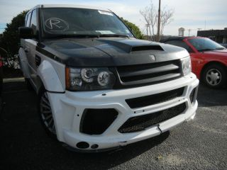 Range Rover Sport Supercharged Mansory Like Autobiography Parts Rebuild Salvage