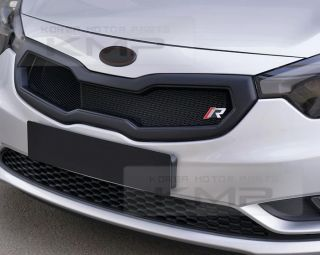 Front Hood Radiator Grill Painted for Kia 2013 2014 Cerato Forte K3