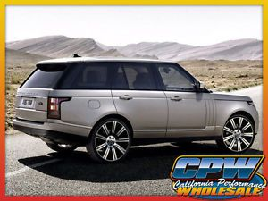 "Land Rover Range Rover HSE 24"" in Wheel and Tire Package Rims New Full Size 2013"