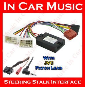 Kia Sportage Steering Wheel Stalk Interface Adaptor Free JVC Stereo Patch Lead